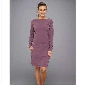 Merrell Ostrova Purple Swearshirt Dress NWT